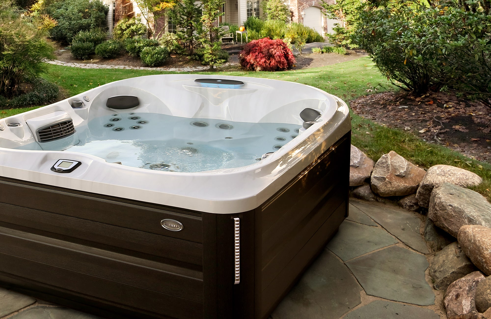 J-485 Hot Tub Installation